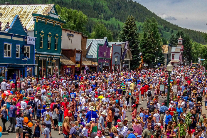 4thofJuly in Crested Butte Big Al's Bicycle Heaven - Crested Butte Bike Shop