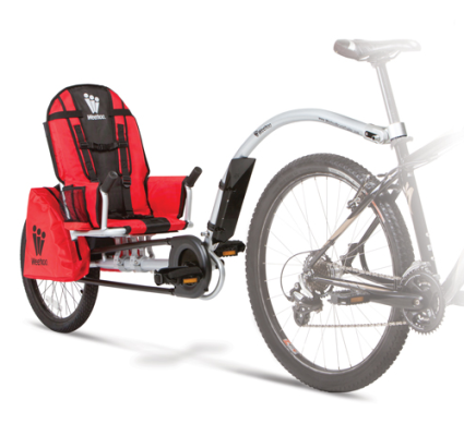 WeHoo Crested Butte Kids Bike Trailer Rentals