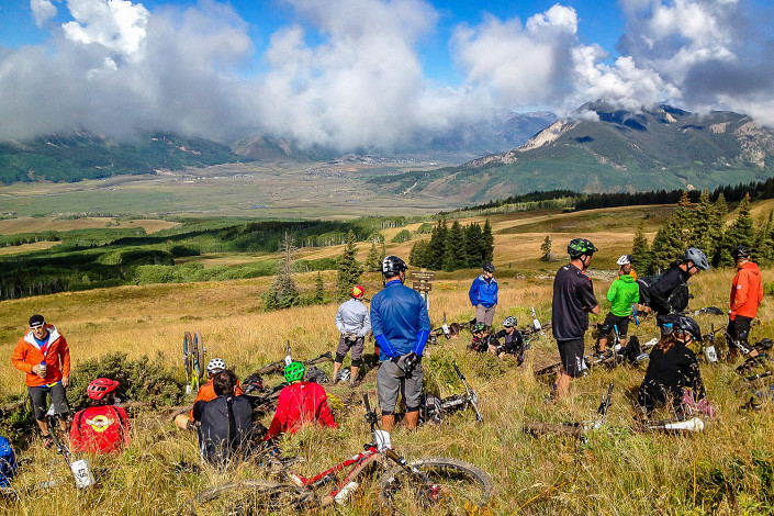 riding bikes at altitudeBig Al's Bicycle Heaven - Crested Butte Bike Shop