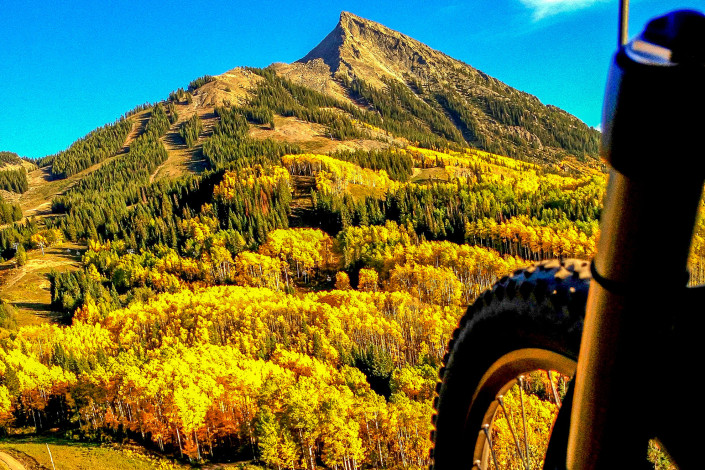 Fall in Crested Butte - Big Als Bicycle Heaven - Crested Butte Bike Rentals