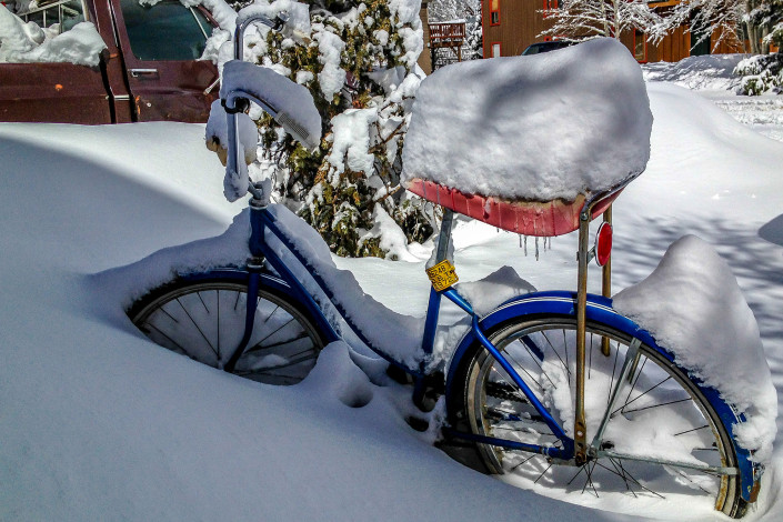 Winter Bike Rides in Crested Butte - Big Als Bicycle Heaven - Crested Butte Bike Rentals