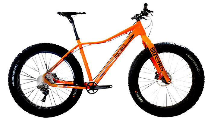 Borealis Flume Gx Crested E Fat Bike Al