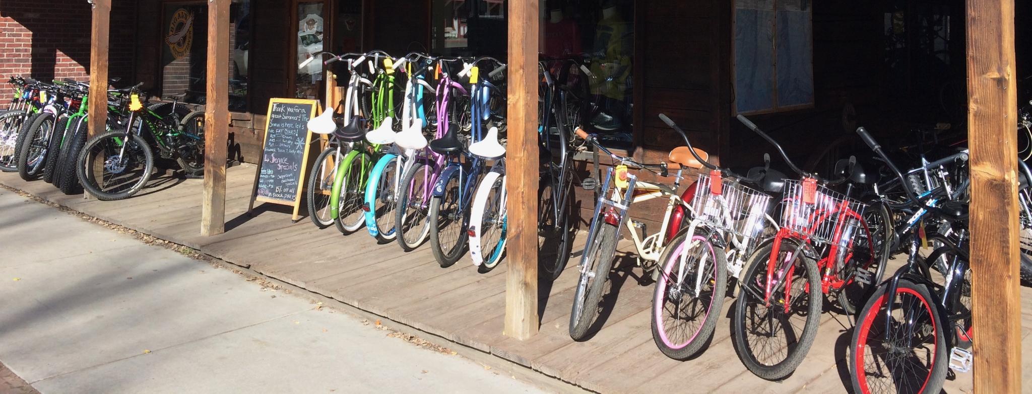 Big Al's Bicycle Heaven Crested Butte Bike Rentals
