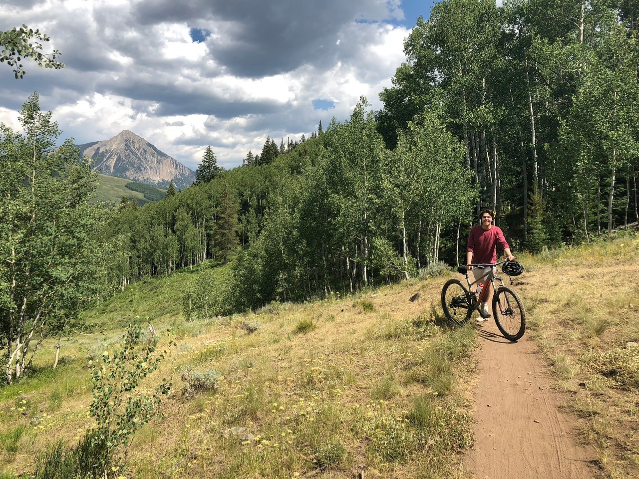 Crested Butte Bike Trails Lower Loop Trail